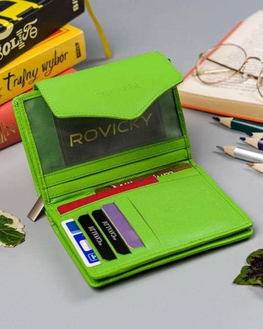 Portfel damski zielony Cavaldi RD-01-GCL MINT