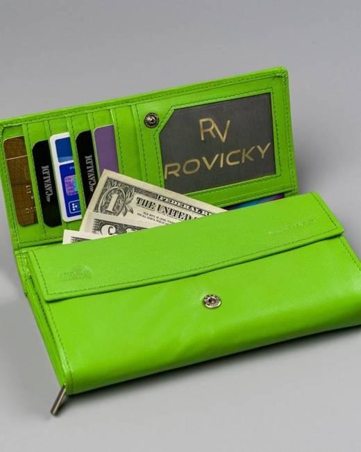 Portfel damski zielony Cavaldi RD-12-GCL MINT