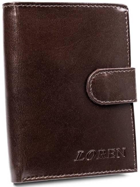 Portfel męski Loren brązowy RM-03L-BCF BROWN
