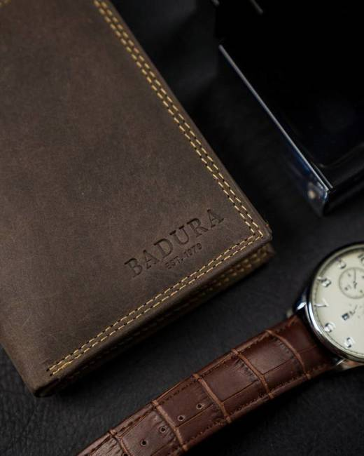 Portfel męski brązowy Badura N104-MH-BA BROWN