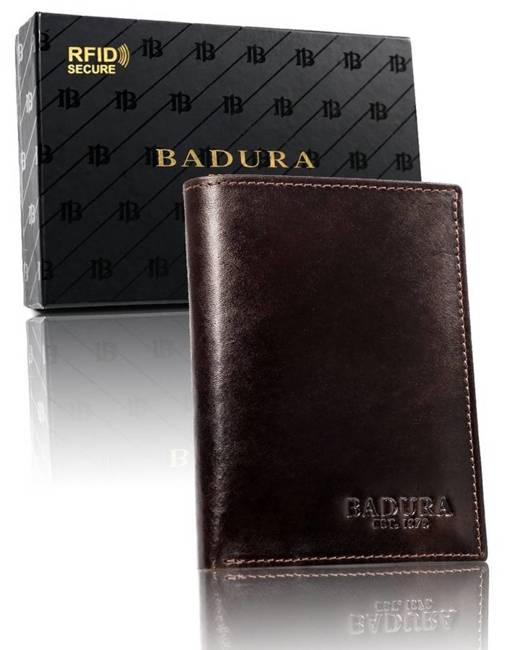 Portfel męski brązowy Badura PO_M051BR_CE