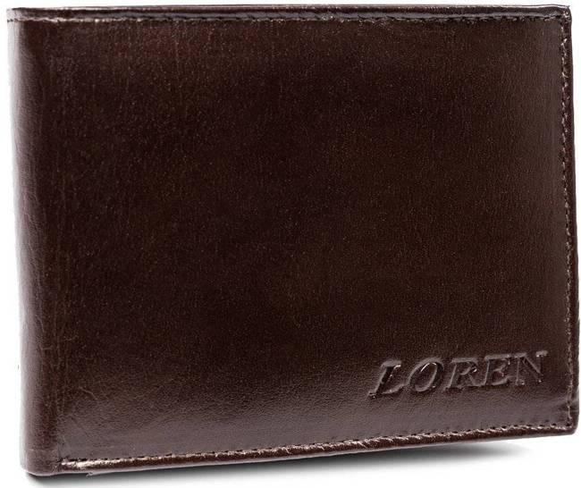 Portfel męski brązowy LOREN RM-02-BCF BROWN