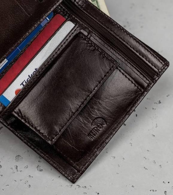 Portfel męski brązowy Loren RM-06-BCF BROWN