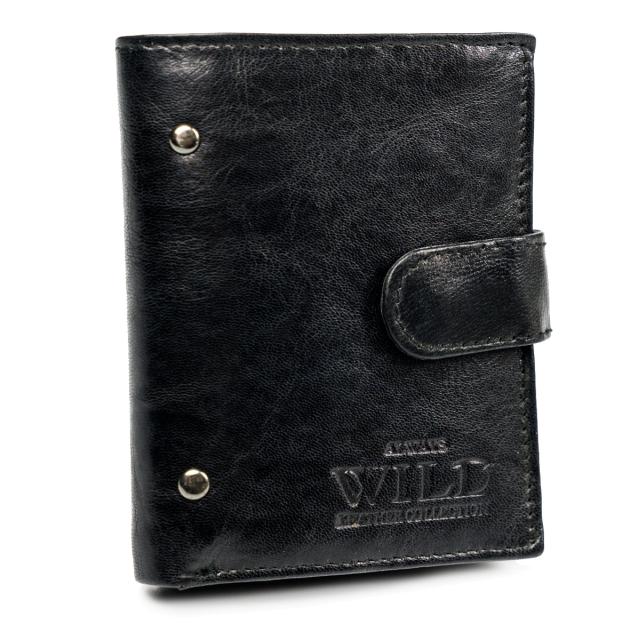 Portfel męski czarny Always Wild N20194L-VTK-N BLACK