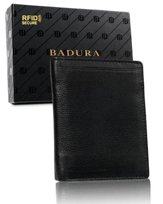 Portfel męski czarny Badura B-N1010-CAW BLACK