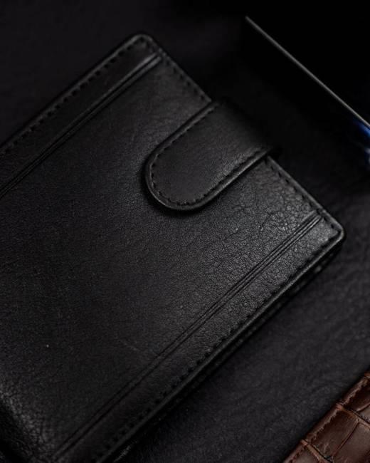 Portfel męski czarny Badura B-N1020-CAW BLACK