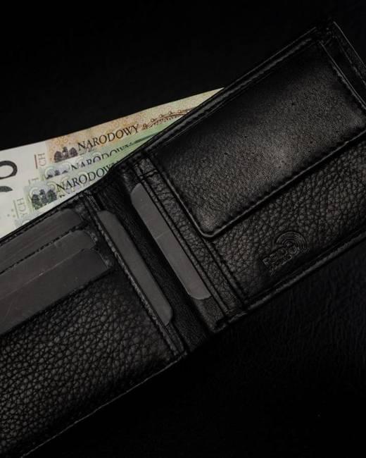 Portfel męski czarny Badura B-N29925-CAW BLACK
