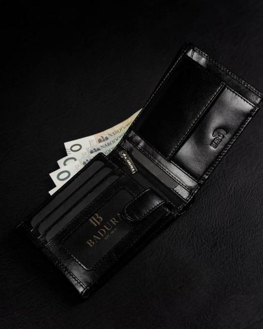 Portfel męski czarny Badura PO_M092CZ_CE