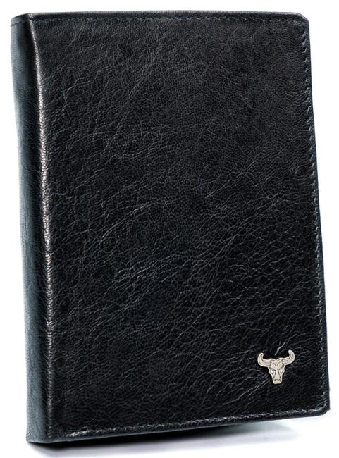 Portfel męski czarny Buffalo Wild  N104-BW BLACK