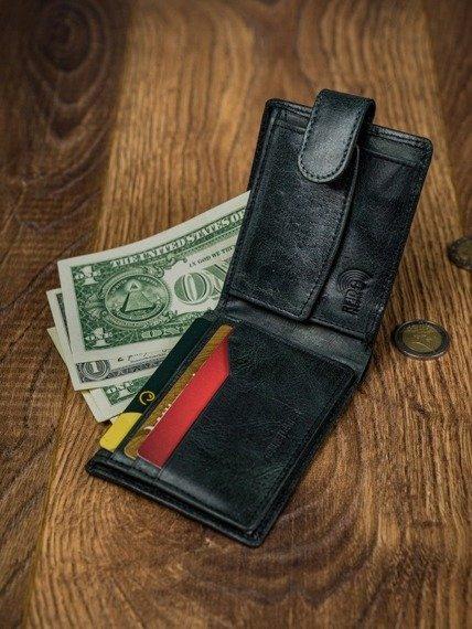 Portfel męski czarny Buffalo Wild N1186L-HP-4987 BLACK