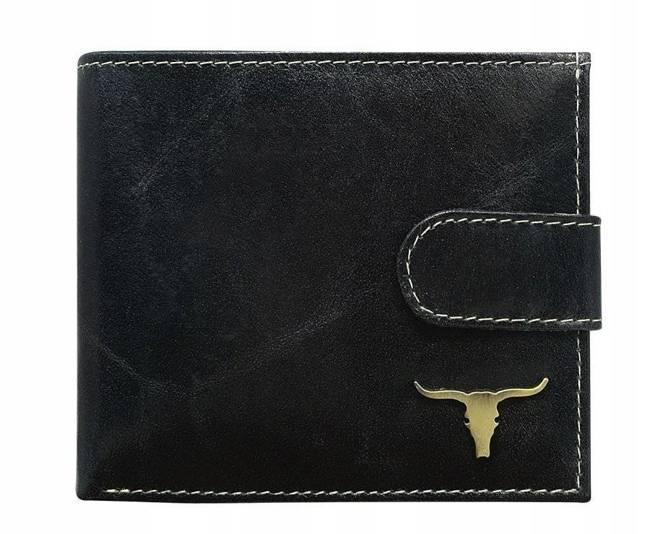 Portfel męski czarny Buffalo Wild RM-01L-BAW BLACK