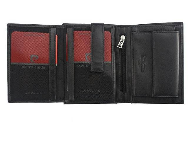 Portfel męski czarny Pierre Cardin 330 TILAK06 NERO RFI