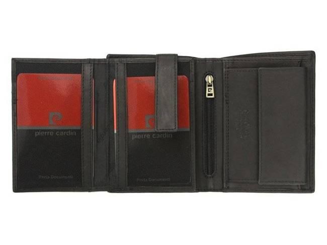 Portfel męski czarny Pierre Cardin 330 TILAK28 NERO RFI