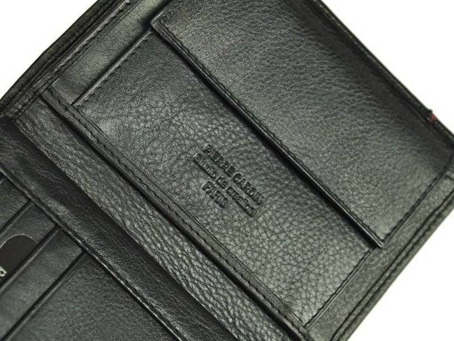 Portfel męski czarny Pierre Cardin 331 TILAK15 CZ-NIEB