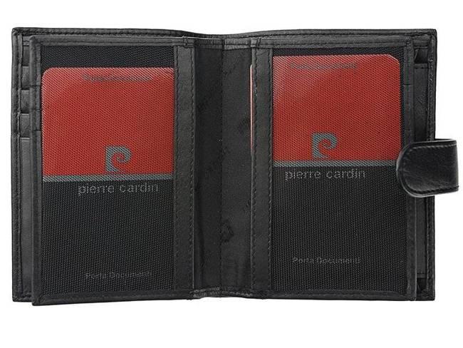 Portfel męski czarny Pierre Cardin  331A TILAK06 NERO RF