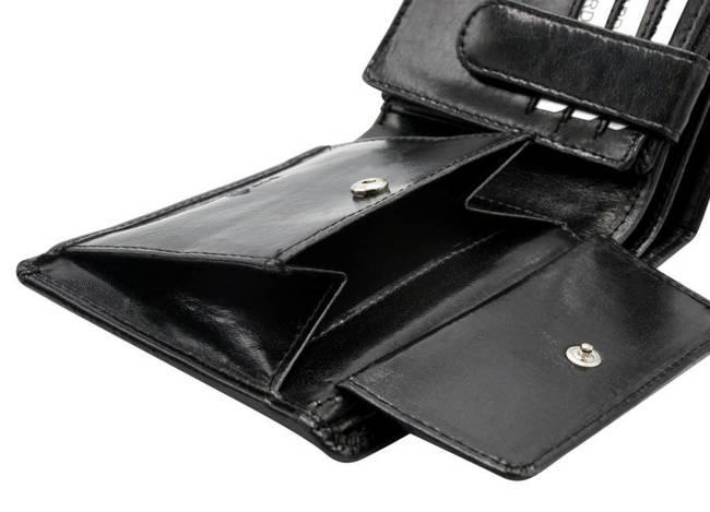 Portfel męski czarny Rovicky GWR-05-ARI-9355 BLAC