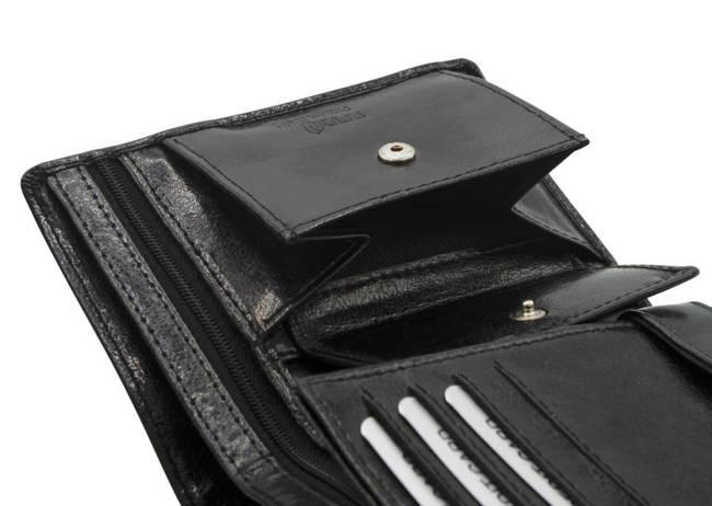 Portfel męski czarny Rovicky GWR-08-R-9294 BLACK