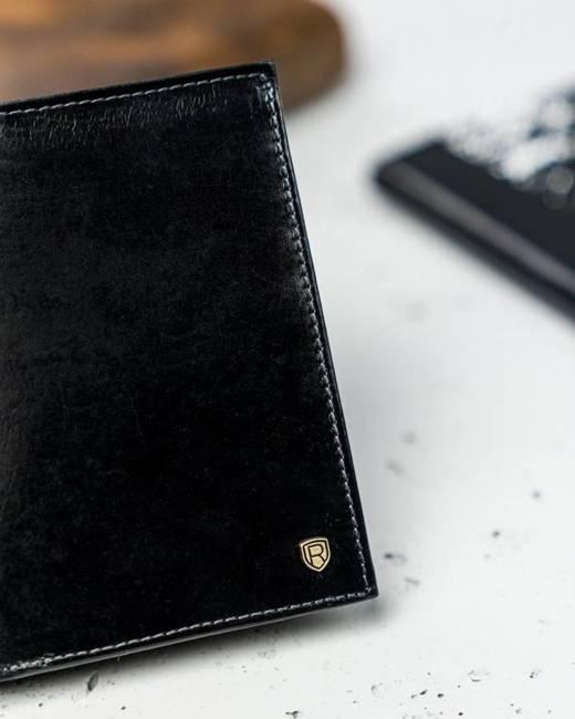 Portfel męski czarny Rovicky N575-RVT Black