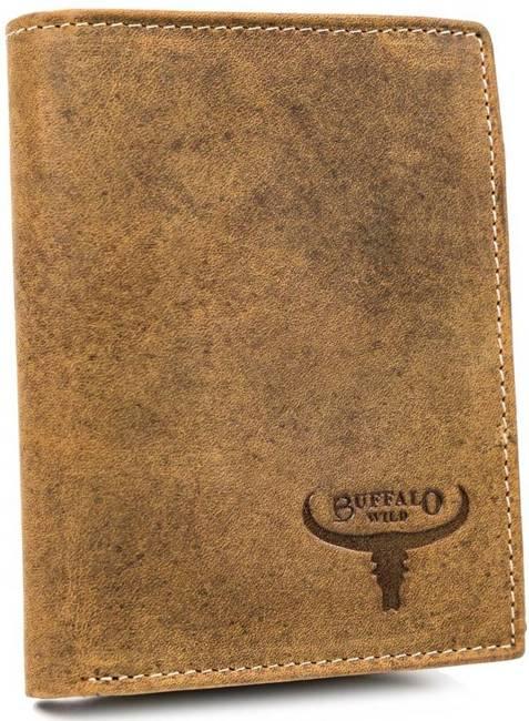 Portfel męski j. brązowy Buffalo Wild RM-06-HBW TAN