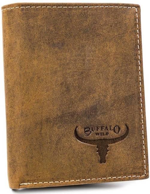 Portfel męski j. brązowy Buffalo Wild RM-07-HBW TAN