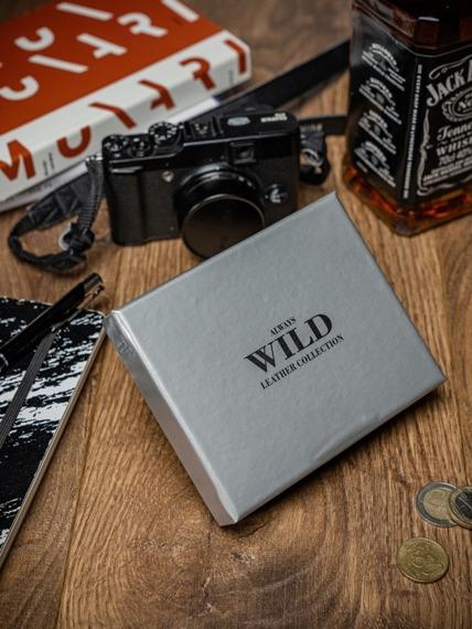 Portfel męski skórzany Always Wild 3021 brązowy