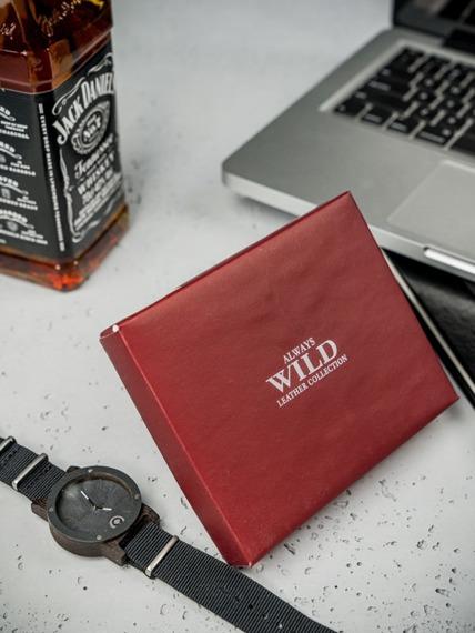 Portfel męski skórzany Always Wild D1072L-MCR