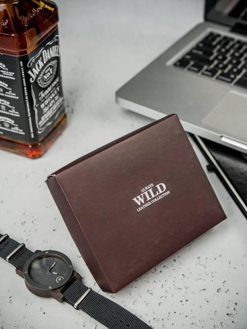 Portfel męski skórzany Always Wild N922-RB