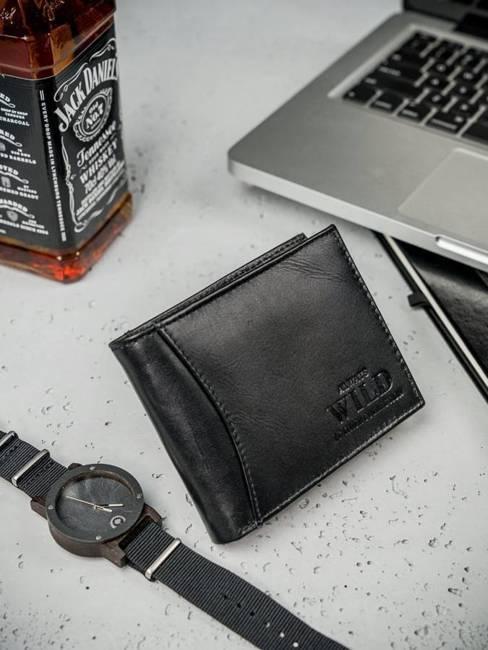 Portfel męski skórzany Always Wild N992-DDP czarny