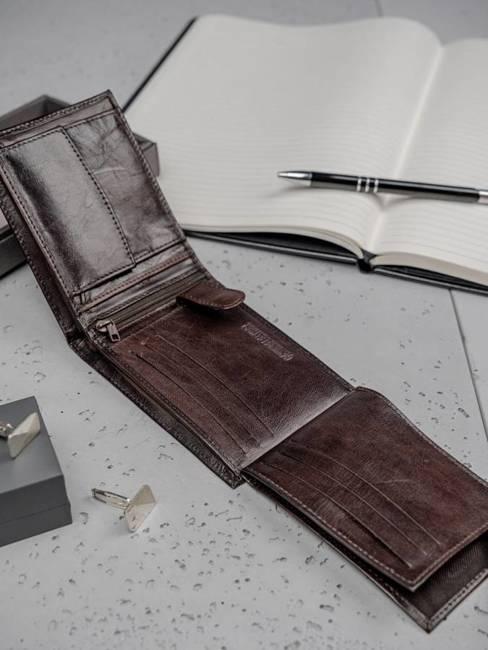 Portfel męski skórzany Always Wild N992-VTK brązowy