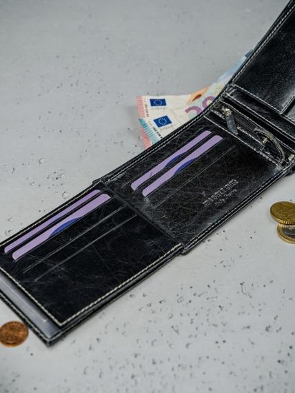 Portfel męski skórzany RFID Always Wild N992-BC czarny