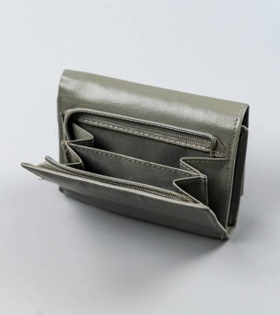 Poziomy portfel damski szary Cavaldi RD-17-GCL-6290 GRAY