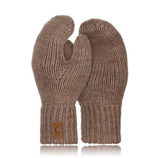 Rękawiczki damskie zimowe r02 Brodrene R02 beżowe