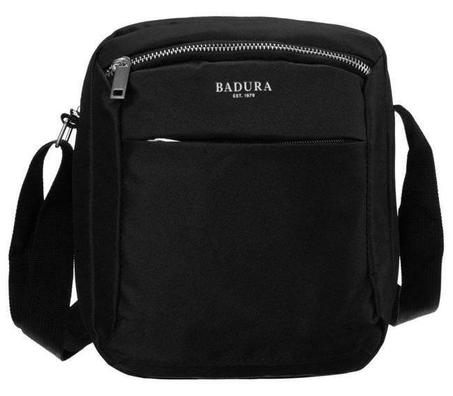 Saszetka męska czarna Badura B-MB-2801-3862 BLACK