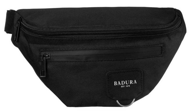 Saszetka nerka czarna Badura B-WB-5209-4043 BLACK