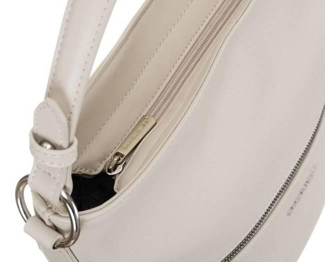 Shopper bag ecru David Jones 6518-1 CREAMY-WHITE