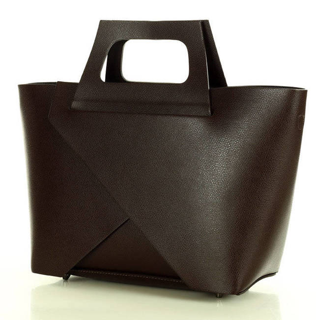 Shopper basket MARCO MAZZINI c. brązowy 378d