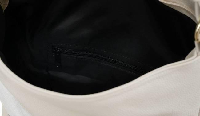 Shopper damski beżowo-biały Badura T_D224BE/BIA_CD