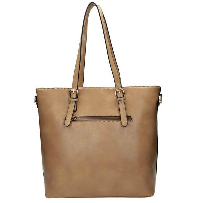 Shopper damski beżowy Nobo NBAG-J3990-C015