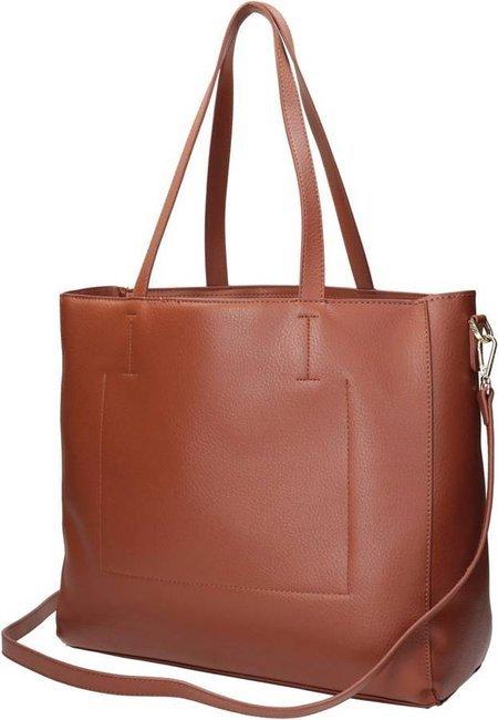 Shopper damski brązowy Nobo NBAG-K3950-C017