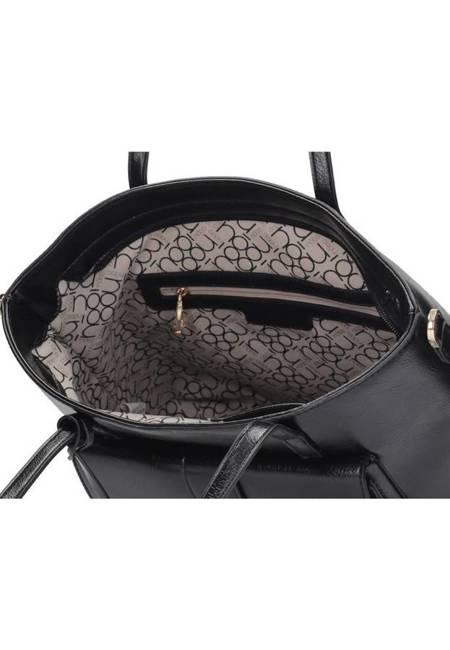 Shopper damski czarny Nobo NBAG-K2320-C020