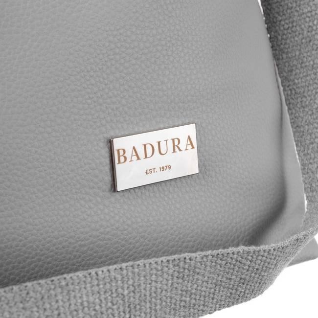 Shopper damski szary Badura T_D176SZ_CD