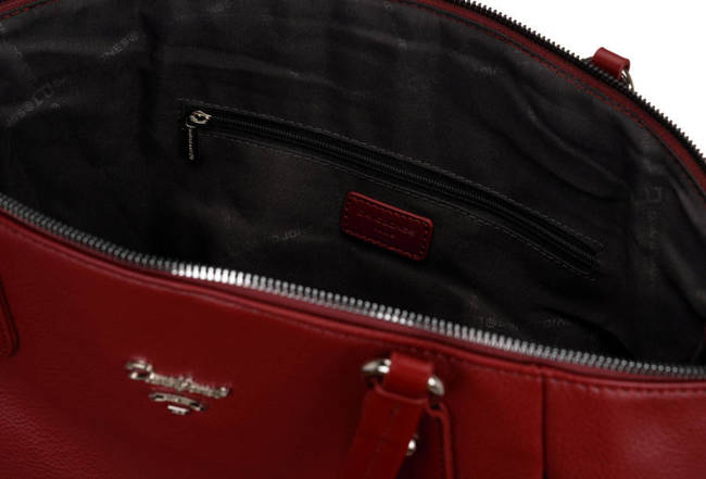 Shopperka bordowa David Jones6607-3A DARK RED