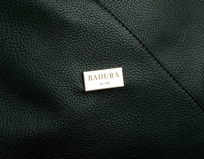 Shopperka c. zielona Badura  T_D177ZI_CD