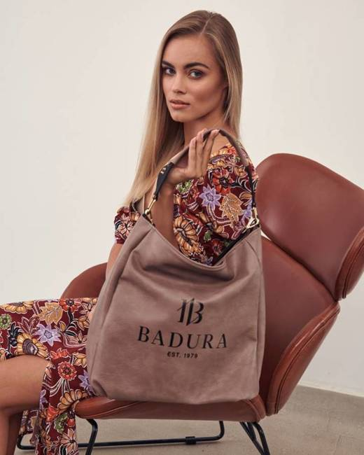 Shopperka khaki Badura T_D133KA_CD