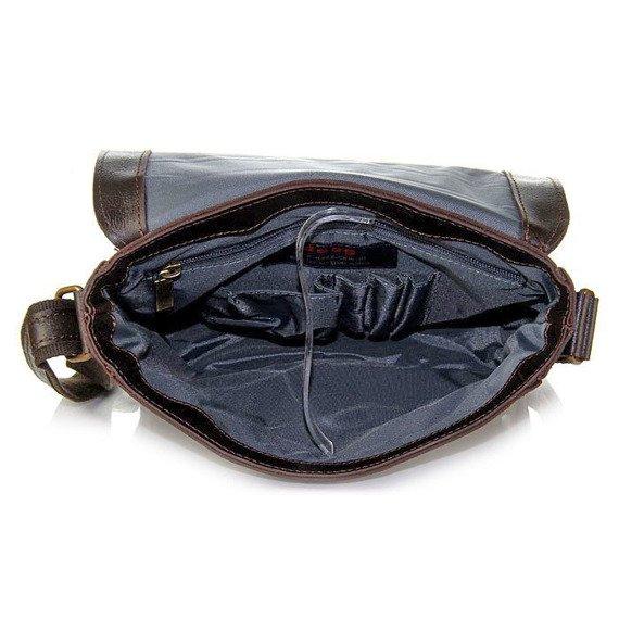Skórzana torba na ramię unisex DAAG Jazzy Party 55
