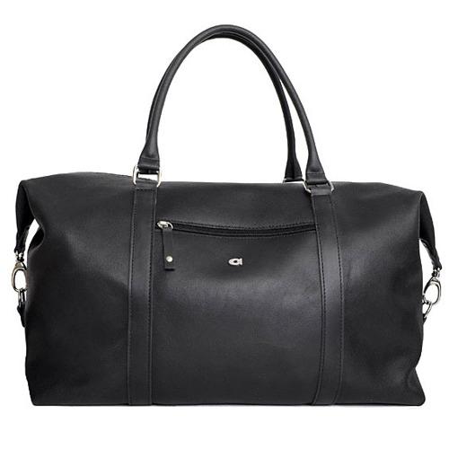 Skórzana torba unisex czarna DAAG JAZZY SMASH 80