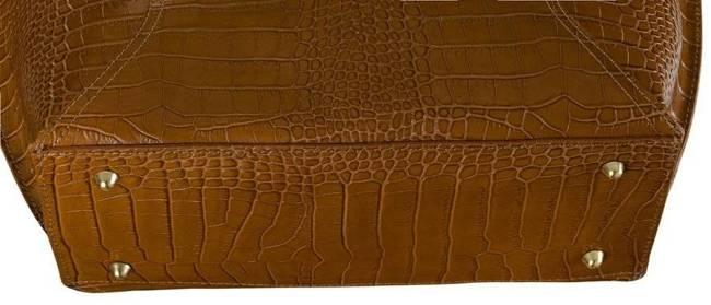 Skórzana torebka damska j. brązowa  Badura T_D215BR_CD