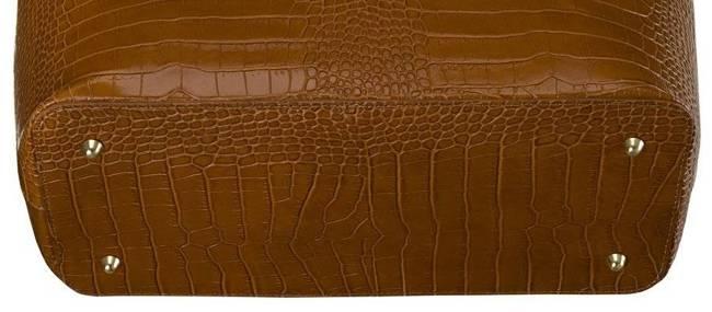 Skórzana torebka damska j. brązowa Badura T_D216BR_CD