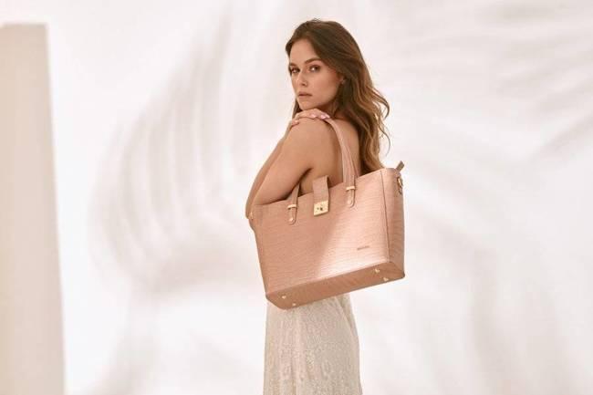 Skórzana torebka damska różowa Badura T_D213ROZ_CD