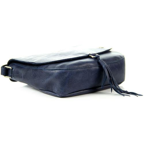 Skórzana torebka listonoszka granatowa DAAG FUNKY GO! 33